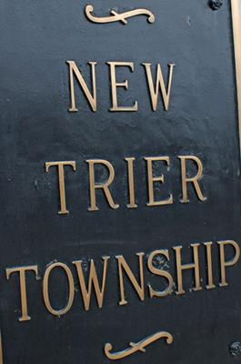 New Trier Township Plaque
